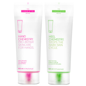 The Chemistry Brand Hand and Heel Chemisty Duo 2 x 100ml