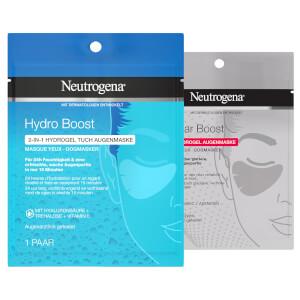 Neutrogena® Hydro Boost 2-IN-1 HYDROGEL TUCH AUGENMASKE / Cellular Boost 100% HYDROGEL AUGENMASKE