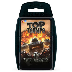 Top Trumps Card Game - World of Tanks Edition