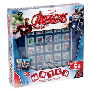 Top Trumps Match - Marvel Avengers Assemble