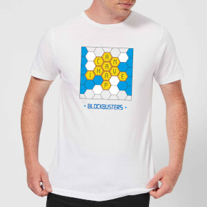 Blockbusters Can I Have A 'P' Men's T-Shirt - White