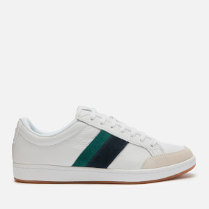 Lacoste Men's Carnaby Ace 120 Low Top Trainers - White/Green