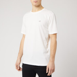 C.P. Company Men's Chest Logo T-Shirt - Gauze White
