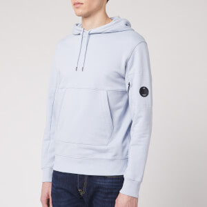 C.P. Company Men's Pop Over Hoody - Halogen Blue
