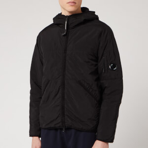 C.P. Company Men's Medium Light Jacket - Black