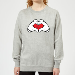Ok Boomer Love Hands Women's Sweatshirt - Grey