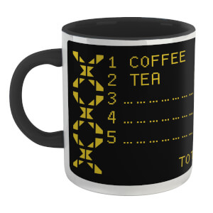 Family Fortunes Our Survey Said .... Coffee Mug - White/Black