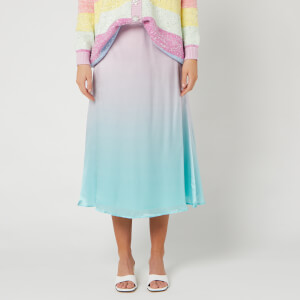 Olivia Rubin Women's Penelope Skirt - Pink Green Ombre