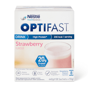 OPTIFAST Shakes - Strawberry - Box of 8