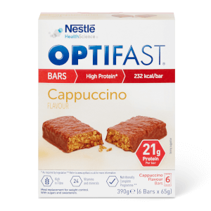 OPTIFAST Meal Bar - Cappuccino - Box of 6