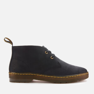 Dr. Martens Men's Cabrillo Leather Desert Boots - Black