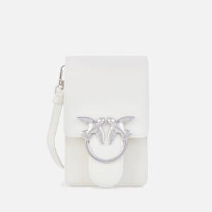 Pinko Women's Smart Love Cross Body Bag - Silver Grey