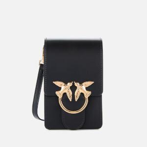 Pinko Women's Smart Love Cross Body Bag - Black