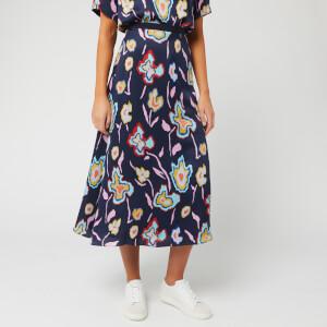 PS Paul Smith Women's Floral Print Skirt - Multi