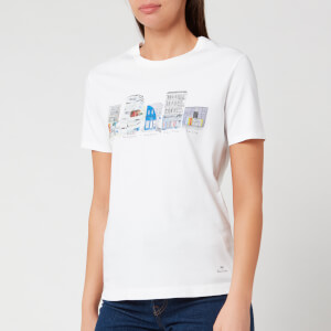 PS Paul Smith Women's London Street T-Shirt - White