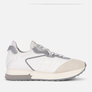 Ash Women's Tiger Running Style Trainers - Salt/White
