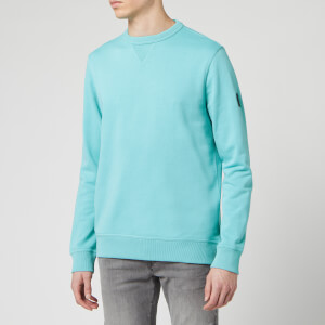 BOSS Hugo Boss Men's Walkup 1 Sweatshirt - Turquoise/Aqua