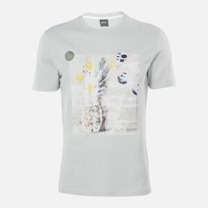 BOSS Hugo Boss Men's Troaar 4 T-Shirt - Silver
