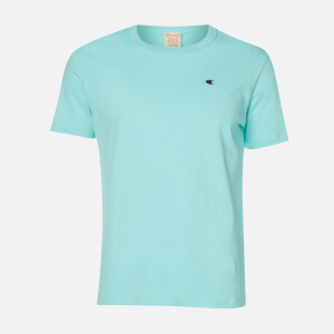 Champion Men's Logo T-Shirt - Baby Blue