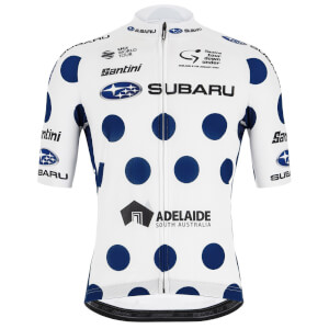 Santini 2020 Tour Down Under King of The Mountains Jersey