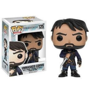 Dishonored 2 Unmasked Corvo EXC Funko Pop! Vinyl