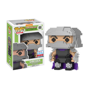 Teenage Mutant Ninja Turtles Shredder 8-Bit NYCC 2017 EXC Funko Pop! Vinyl