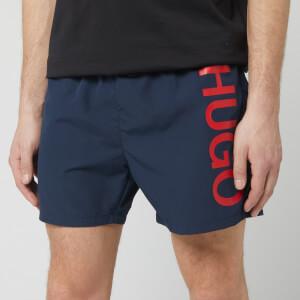 BOSS Men's Abas Swim Shorts - Navy