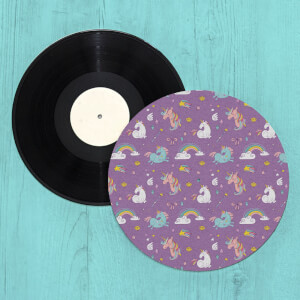 Unicorns And Rainbows Turntable Slip Mat