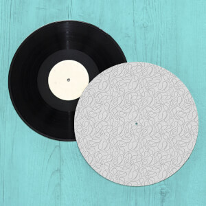 Swirly Lines Turntable Slip Mat