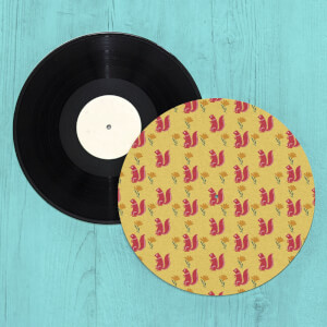 Nordic Squirrel Turntable Slip Mat