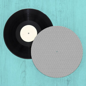 Nordic Foliage Turntable Slip Mat