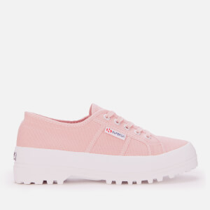 Superga Women's 2555-Cotu Alpina Trainers - Pink Smoke
