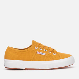 Superga Women's 2750-Cotu Classic Canvas Trainers - Yellow Golden