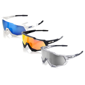 100% Speedtrap Sunglasses with HiPER Mirror Lens