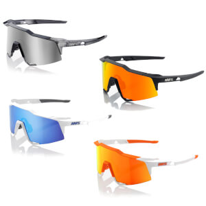 100% Speedcraft Sunglasses with HiPER Mirror Lens