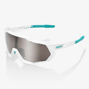 100% Speedtrap Bora Hansgrohe Team Edition Sunglasses with HiPER Silver Mirror Lens