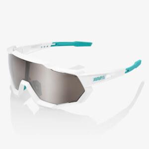 100% Speedtrap Bora Hansgrohe Team Edition Sunglasses with HiPER Silver Mirror Lens