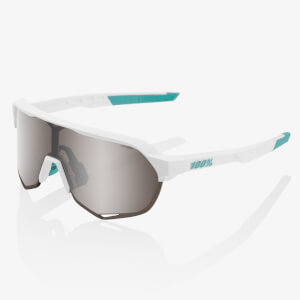 100% S2 Bora Hansgrohe Team Edition Sunglasses with HiPER Silver Mirror Lens