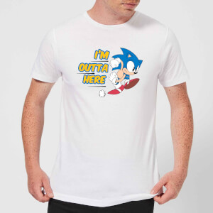 I'm Outta Here Men's T-Shirt - White