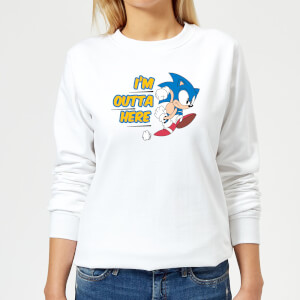 I'm Outta Here Women's Sweatshirt - White