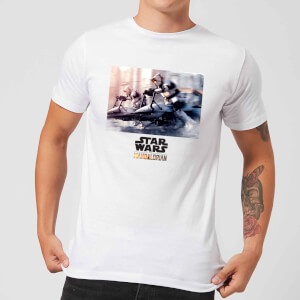 Camiseta The Mandalorian Scout Trooper - Hombre - Blanco