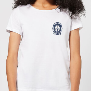 The Mandalorian Bounty Hunter Women's T-Shirt - White