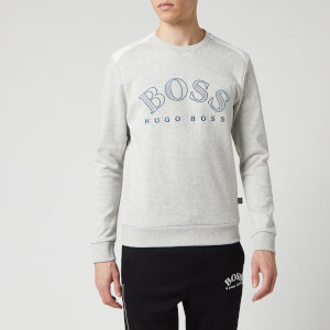 BOSS Hugo Boss Men's Salbo Sweatshirt - Light/Pastel Grey