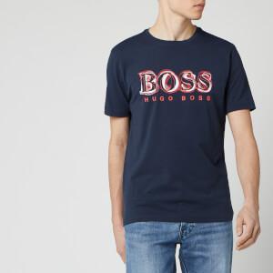 BOSS Hugo Boss Men's Tee 4 T-Shirt - Navy