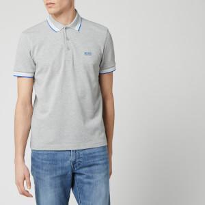 BOSS Hugo Boss Men's Paddy Polo Shirt - Open Grey