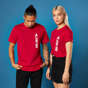 Camiseta Star Trek Engineer - Unisex - Rojo
