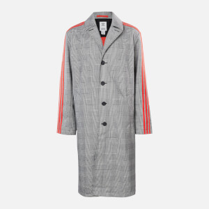 adidas X 424 Men's Trench Coat - White/Black/Red