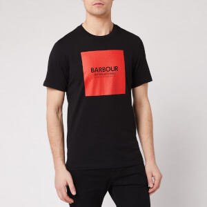Barbour International Men's Block T-Shirt - Black