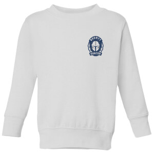 The Mandalorian Bounty Hunter Kids' Sweatshirt - White
