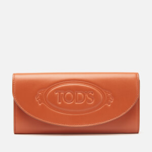 Tod's Women's Blasone Large Wallet - Tan